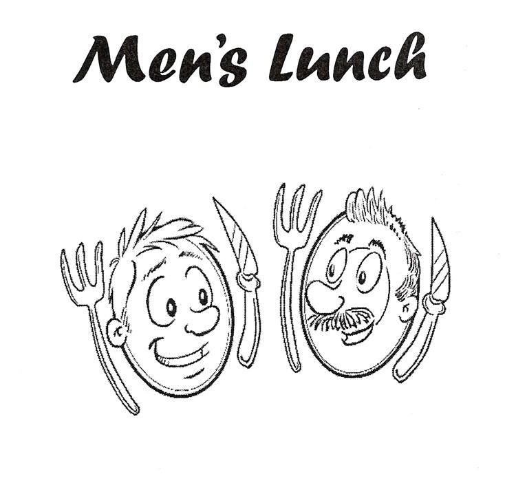 Mens Lunch logo Standard